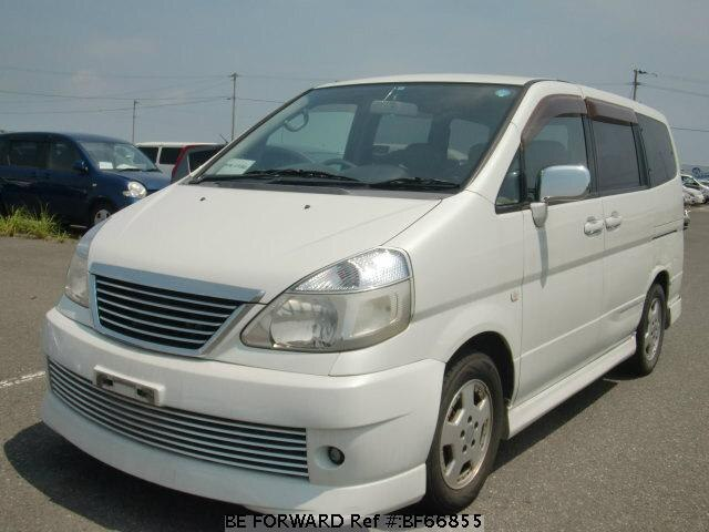 Used 2001 NISSAN SERENA BF66855 for Sale