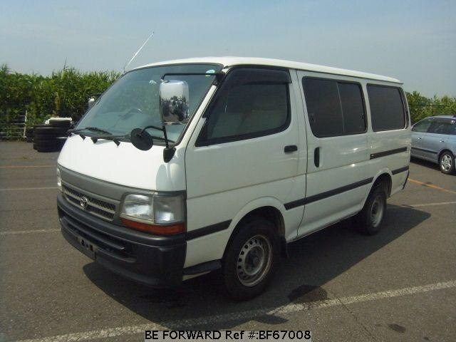 Used 2001 TOYOTA HIACE VAN BF67008 for Sale