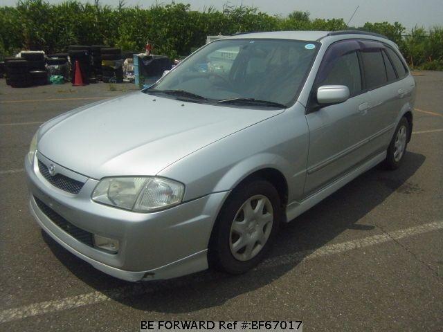 Used 1999 MAZDA FAMILIA S-WAGON BF67017 for Sale