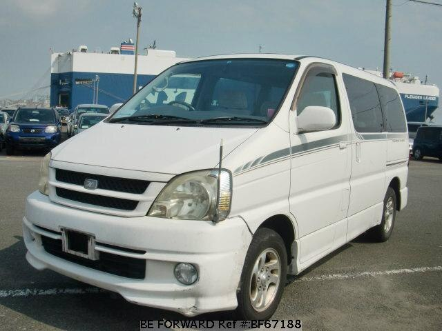 Used 1999 TOYOTA TOURING HIACE BF67188 for Sale