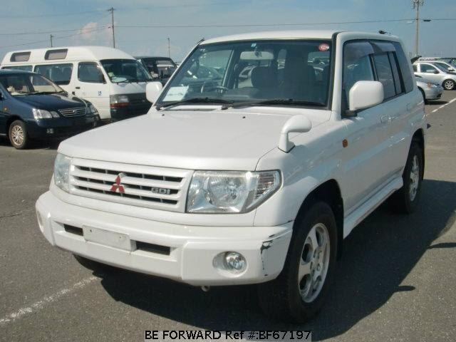 Used 1999 MITSUBISHI PAJERO IO BF67197 for Sale
