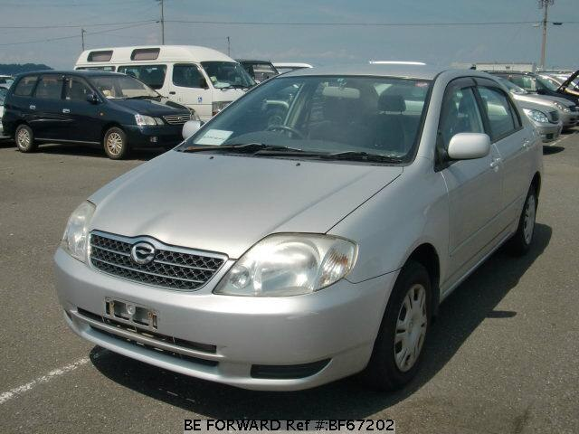 Used 2002 TOYOTA COROLLA SEDAN BF67202 for Sale