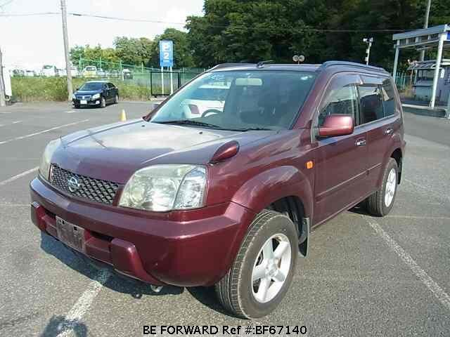 Used 2002 NISSAN X-TRAIL BF67140 for Sale