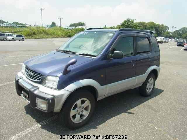 Used 1997 DAIHATSU TERIOS BF67239 for Sale
