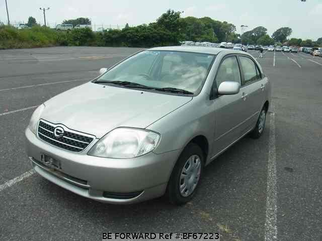 Used 2002 TOYOTA COROLLA SEDAN BF67223 for Sale