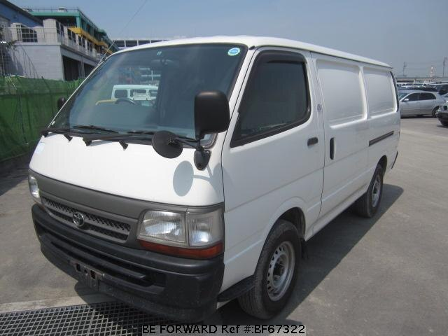 Used 2003 TOYOTA HIACE VAN BF67322 for Sale