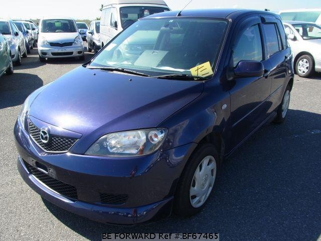 Used 2003 MAZDA DEMIO BF67465 for Sale