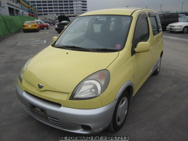 Used 2000 TOYOTA FUN CARGO BF67253 for Sale