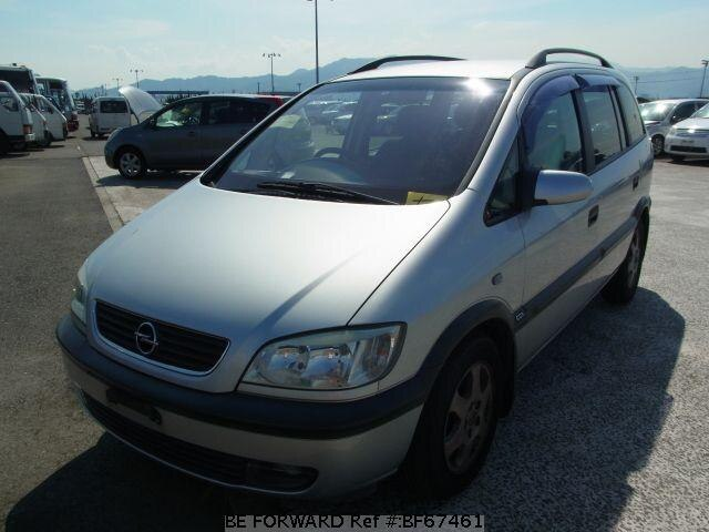 Used 2001 OPEL ZAFIRA BF67461 for Sale