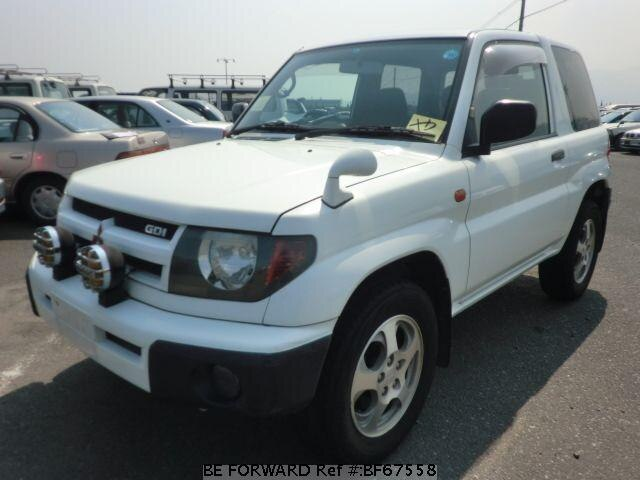 Used 1998 MITSUBISHI PAJERO IO BF67558 for Sale