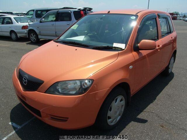 Used 2003 MAZDA DEMIO BF67480 for Sale