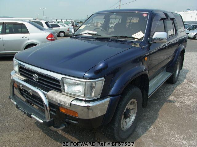 Used 1995 TOYOTA HILUX SURF BF67537 for Sale