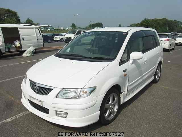 Used 2001 MAZDA PREMACY BF67527 for Sale