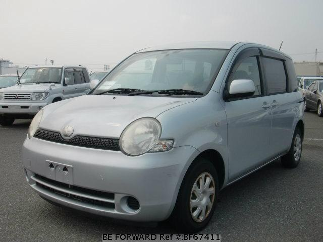 Used 2003 TOYOTA SIENTA BF67411 for Sale