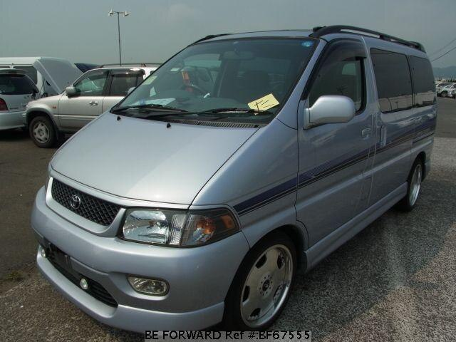 Used 1999 TOYOTA REGIUS WAGON BF67555 for Sale