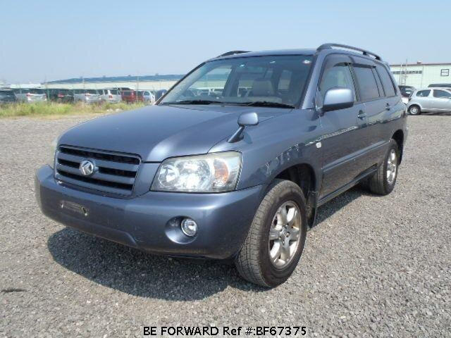 Used 2003 TOYOTA KLUGER V BF67375 for Sale