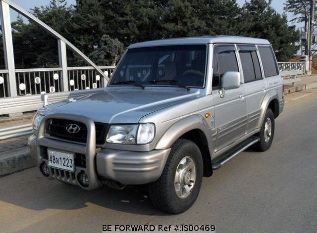 Used 1999 HYUNDAI GALLOPER IS00469 for Sale