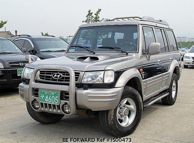 Used 2001 HYUNDAI GALLOPER IS00473 for Sale