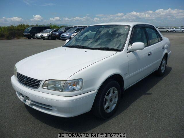 Used 2000 TOYOTA COROLLA SEDAN BF67796 for Sale
