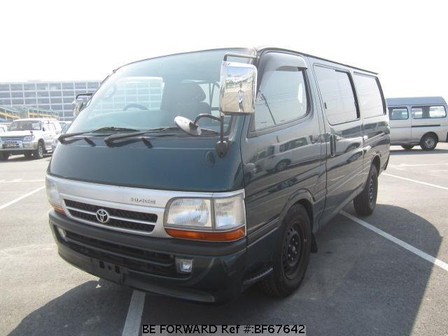 Used 2004 TOYOTA HIACE VAN BF67642 for Sale
