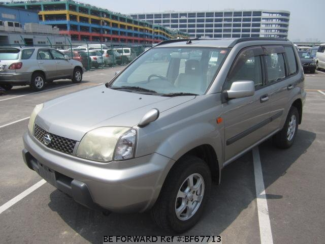 Used 2002 NISSAN X-TRAIL BF67713 for Sale