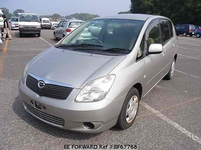 Used 2001 TOYOTA COROLLA SPACIO BF67768 for Sale