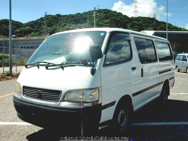 Used 1997 TOYOTA HIACE WAGON BF67827 for Sale