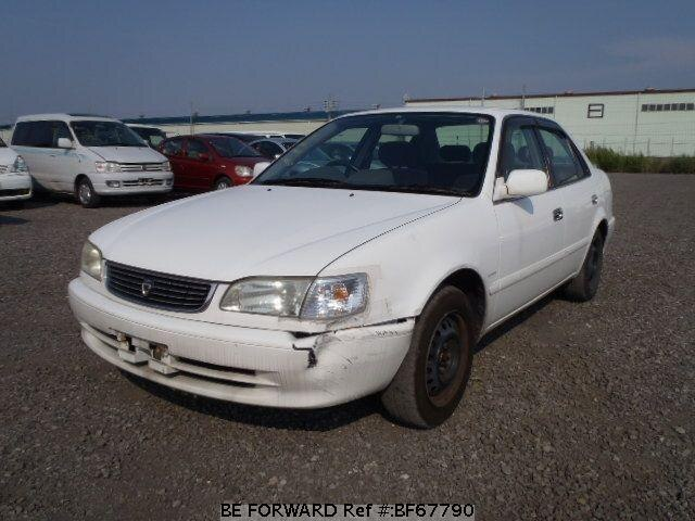 Used 2000 TOYOTA COROLLA SEDAN BF67790 for Sale