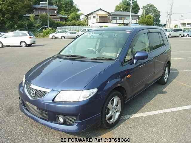Used 2001 MAZDA PREMACY BF68080 for Sale