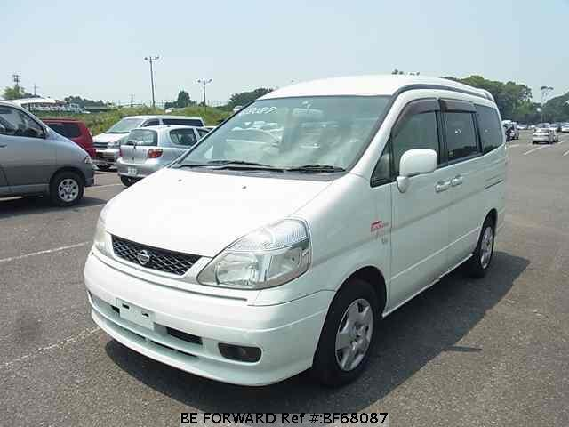 Used 2001 NISSAN SERENA BF68087 for Sale