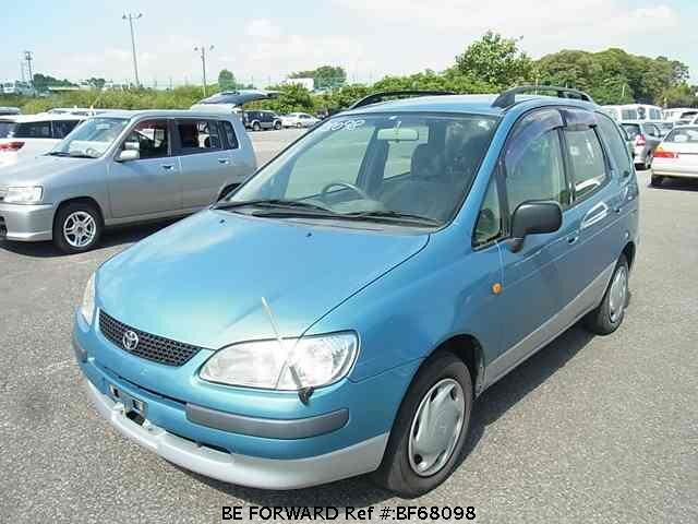 Used 1997 TOYOTA COROLLA SPACIO BF68098 for Sale