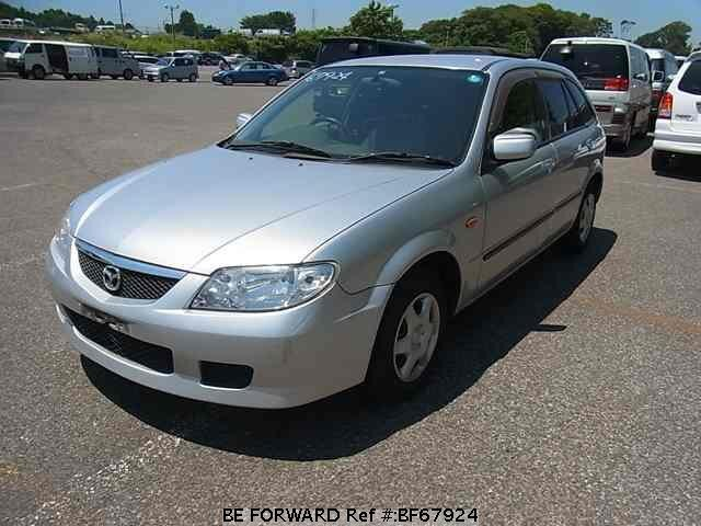 Used 2001 MAZDA FAMILIA S-WAGON BF67924 for Sale