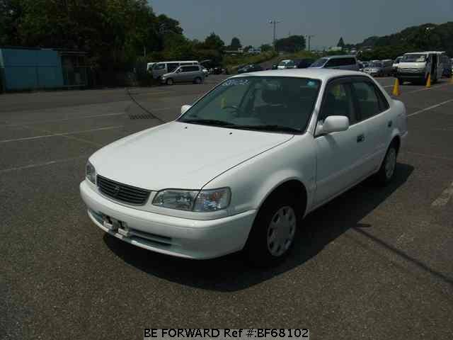 Used 1999 TOYOTA COROLLA SEDAN BF68102 for Sale