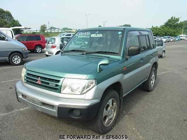 Used 1999 MITSUBISHI PAJERO IO BF68059 for Sale
