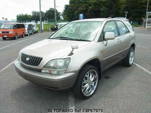 Used 2000 TOYOTA HARRIER BF67973 for Sale