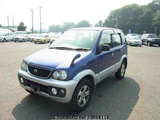 Used 2000 DAIHATSU TERIOS BF68118 for Sale