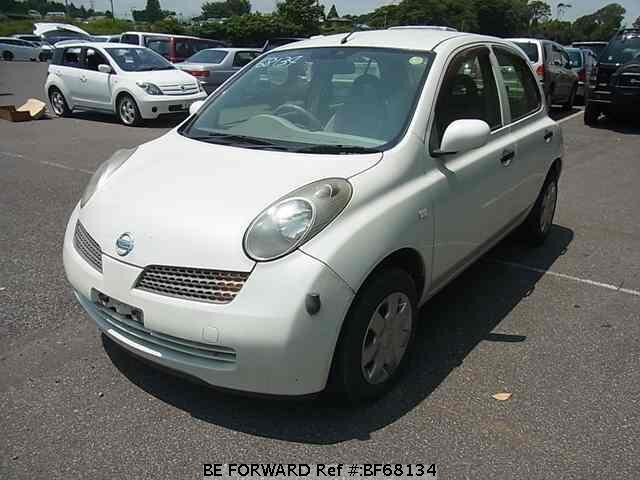 Used 2002 NISSAN MARCH BF68134 for Sale