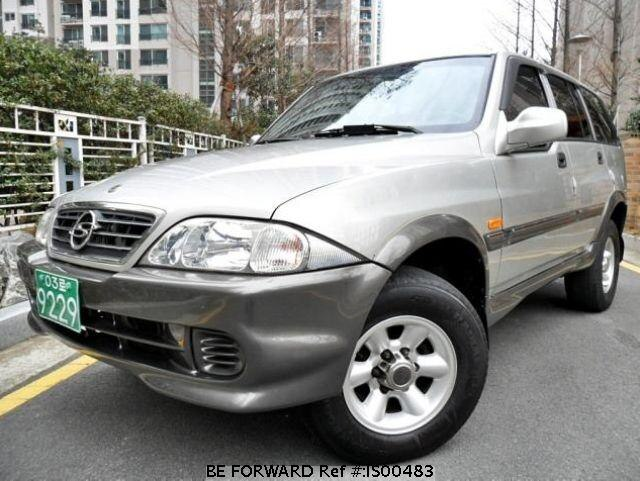 Used 2002 SSANGYONG MUSSO IS00483 for Sale