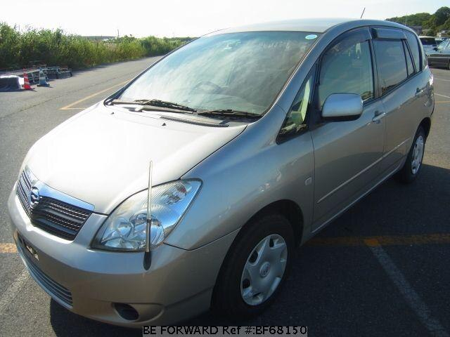 Used 2002 TOYOTA COROLLA SPACIO BF68150 for Sale