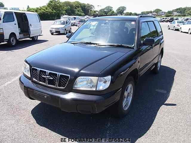 Used 2002 SUBARU FORESTER BF68264 for Sale