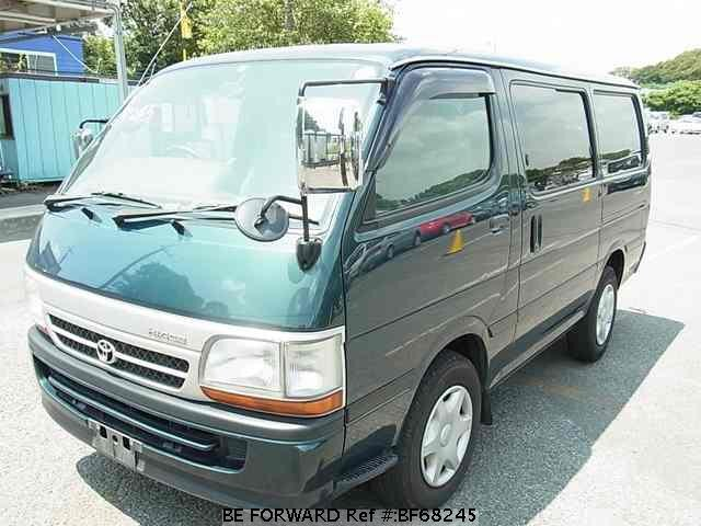Used 2004 TOYOTA HIACE VAN BF68245 for Sale