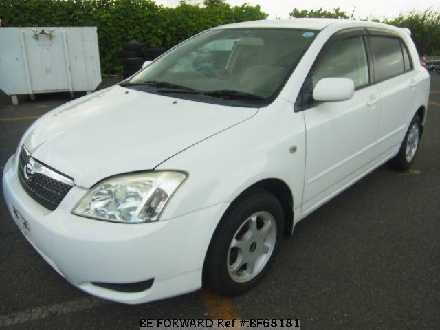 Used 2003 TOYOTA COROLLA RUNX BF68181 for Sale