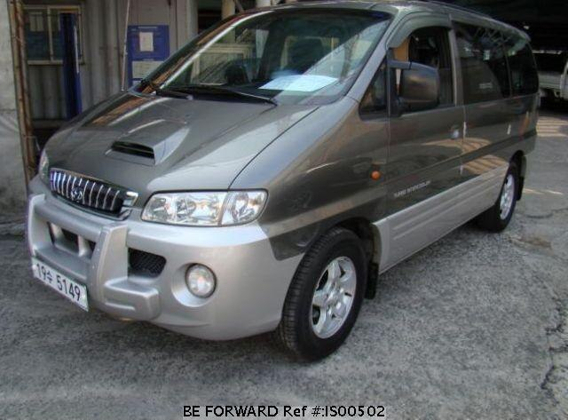 Used 2001 HYUNDAI STAREX IS00502 for Sale