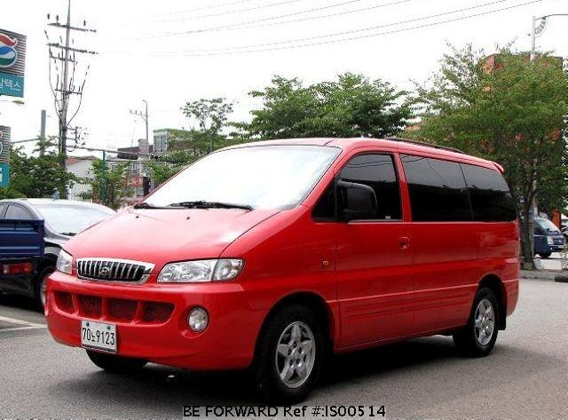 Used 2000 HYUNDAI STAREX IS00514 for Sale
