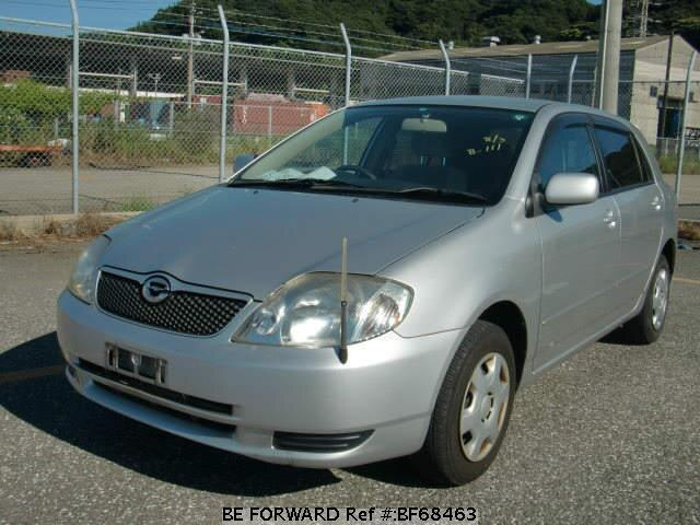 Used 2002 TOYOTA COROLLA RUNX BF68463 for Sale