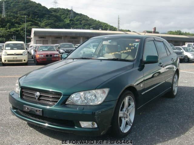 Used 2001 TOYOTA ALTEZZA GITA BF68464 for Sale