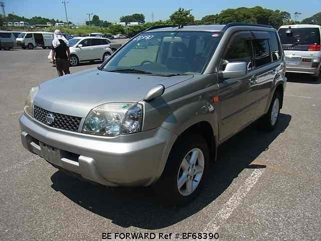Used 2002 NISSAN X-TRAIL BF68390 for Sale