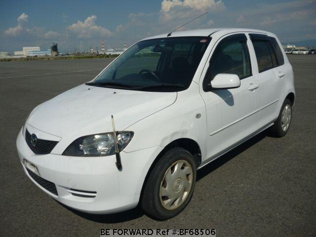 Used 2003 MAZDA DEMIO BF68506 for Sale