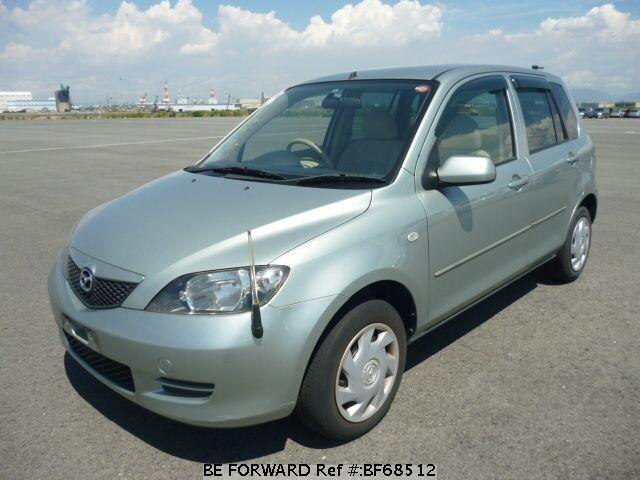 Used 2003 MAZDA DEMIO BF68512 for Sale