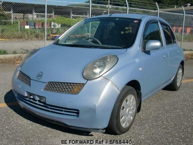 Used 2003 NISSAN MARCH BF68440 for Sale
